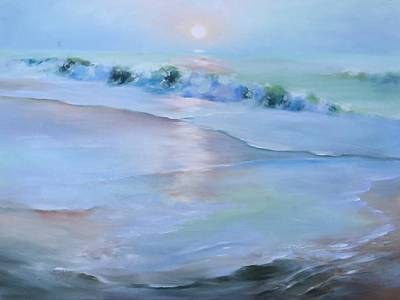 Painting - Seaside Sunrise by Donna Pierce-Clark