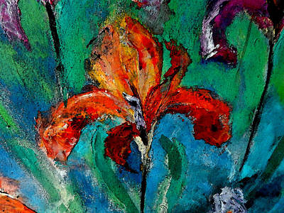 Impressionism Painting - Season Of Iris by Lisa Kaiser