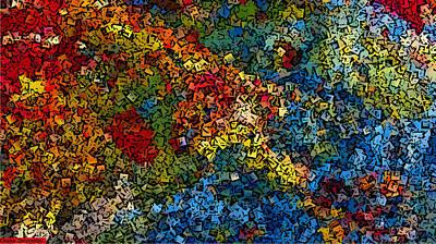 Digital Art - Seasons by Chakanaka Zinyemba
