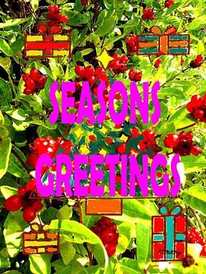 Seasons Greetings 10 Print by Patrick J Murphy