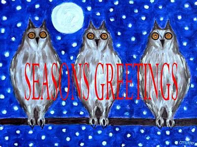 Smart Mixed Media - Seasons Greetings 79 by Patrick J Murphy