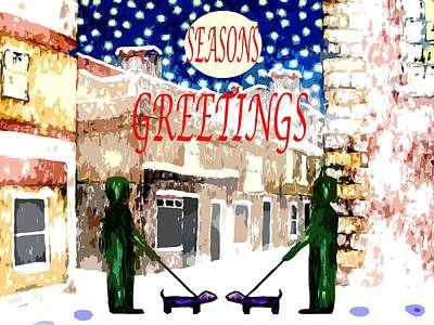Seasons Greetings 83 Print by Patrick J Murphy