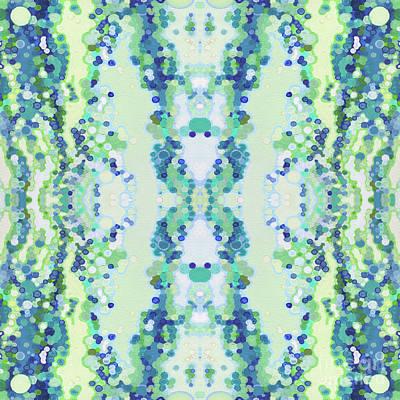 Juul Painting - Seasons- Spring Mandala by Margaret Juul
