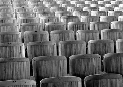Seat Backs Print by Todd Klassy