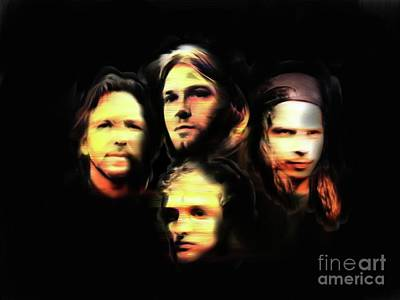 Pearl Jam Mixed Media - Seattle Deathrow by Hugo Diaz