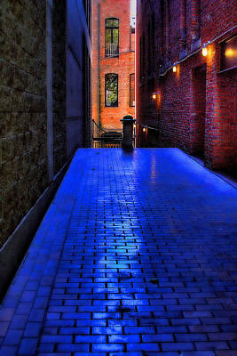 Seattle Photograph - Secluded Patio by David Patterson