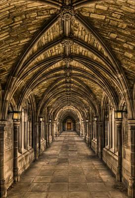 Corridor Photograph - Seclusion by Evelina Kremsdorf