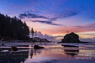 Second Beach Sunrise Print by Jamie Pham