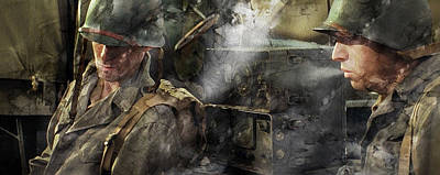 American Painting - Second World War 6236 by Jani Heinonen