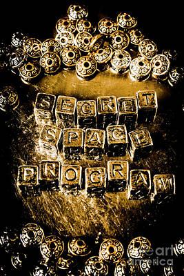 Information Photograph - Secret Space Program by Jorgo Photography - Wall Art Gallery