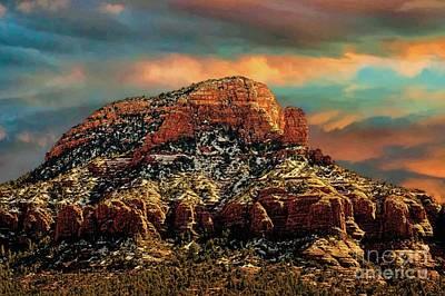Sedona Dawn Print by Jon Burch Photography