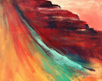 Cosmic Painting - Sedona Vortex by Julie Lueders