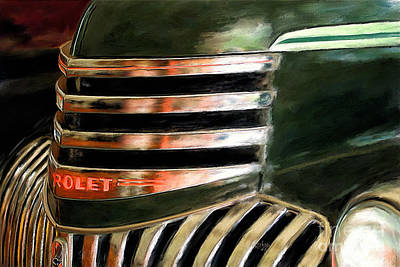 General Motors Digital Art - See The Usa In A Chevrolet by Lois Bryan