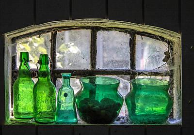 Seeing Green Print by Odd Jeppesen