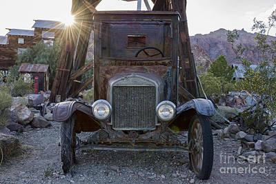 Old Friends Photograph - Seen Better Days by Eddie Yerkish