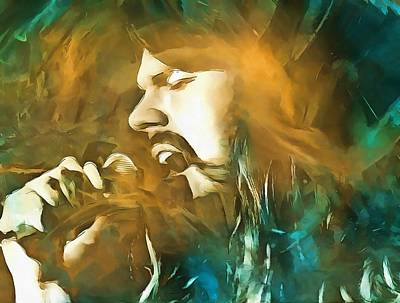 Icon Mixed Media - Seger by Dan Sproul
