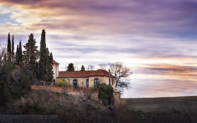 Segovia Sunset Print by Hernan Bua