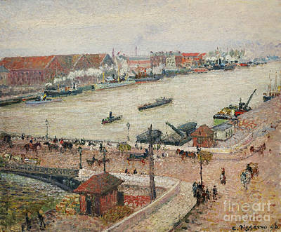 Vale Painting - Seine by Celestial Images