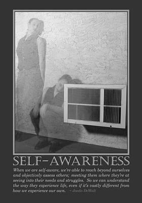 Self-awareness Print by Jaeda DeWalt