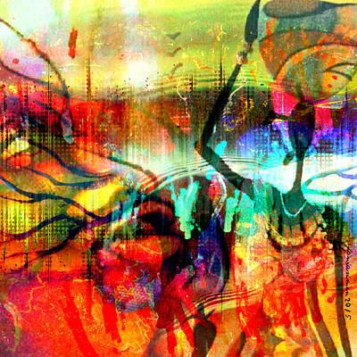 Self-discovery Mixed Media - Self Employed by Fania Simon