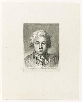 Poster Painting - Self Portrait by Adam von