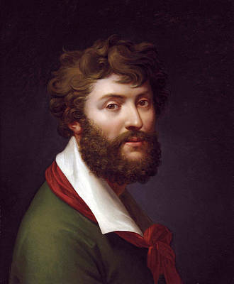 Painting - Self-portrait by Jean-Baptiste Regnault