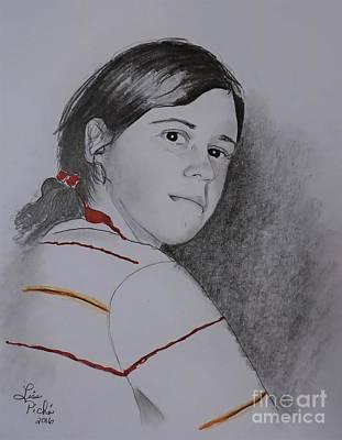 Self Portrait  Original by Lise PICHE