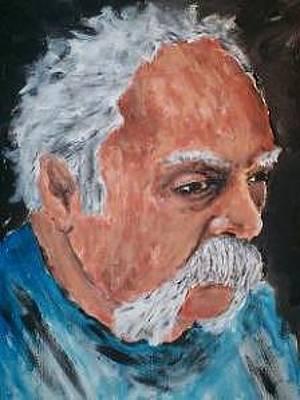 Hightower Painting - Self Portrait Shhightower by Sh hightower