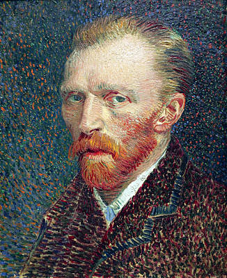 Self Portrait Photograph - Self Portrait Vincent Van Gogh by Daniel Hagerman