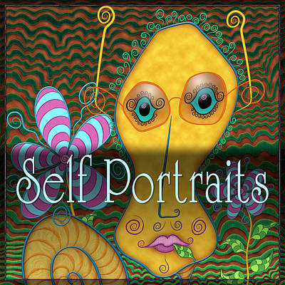 Self Portraits Print by Becky Titus