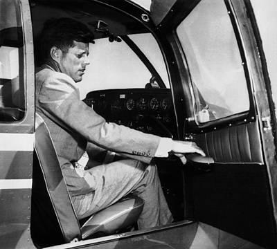 Sen. John Kennedy Returning Print by Everett