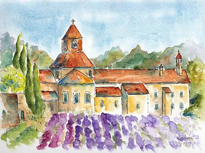 Senanque Abbey Lavender Original by Pat Katz