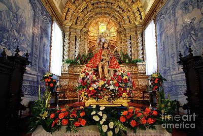 Senhor Bom Jesus Da Pedra Print by Gaspar Avila