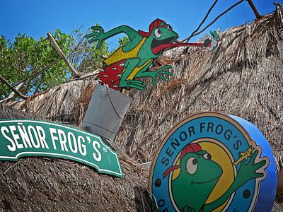 Senor Frog's - Playa Del Carmen Print by Frank Mari