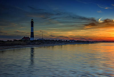 Guiding Light Photograph - Sentinel Of Great South Bay by Rick Berk