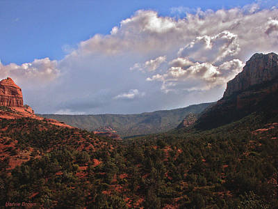 Sedona Arizona Photograph - Sentinel Rocks by Harvie Brown