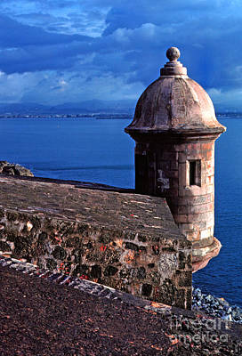 Thomas R. Fletcher Photograph - Sentry Box El Morro Fortress by Thomas R Fletcher