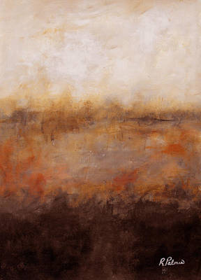 Sepia Wetlands Print by Ruth Palmer