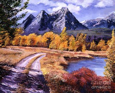 September High Country Original by David Lloyd Glover