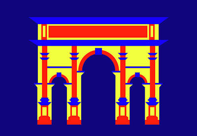 Digital Art - Septimus Severus Rome by Asbjorn Lonvig