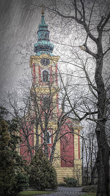 Belgrade Photograph - Serbian Orthodox Cathedral II by Joan Carroll