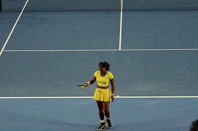 Serena Williams Photograph - Serena On Way To A Loss by Jeff Chase