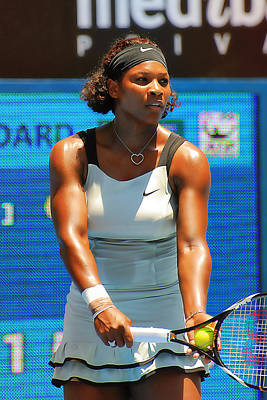 Serena Williams Photograph - Serena Williams by Andrei SKY