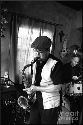 Live Jazz Quartet Photograph - Serenade by Matthew Heller