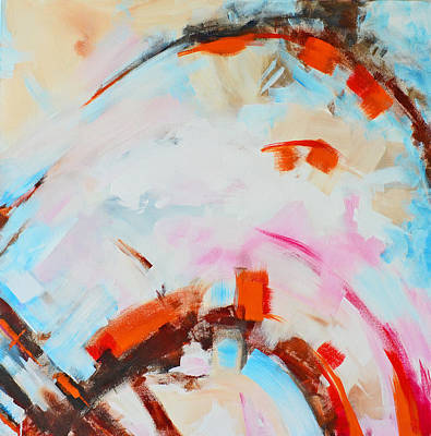 Serendipity No. 2 Abstract Painting Print by Patricia Awapara