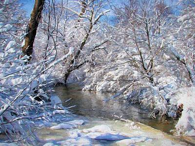 Winter Storm Photograph - Serenity by JC Findley