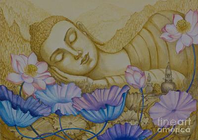 Inner Light Painting - Serenity by Yuliya Glavnaya