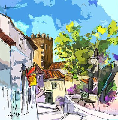 Alentejo Painting - Serpa  Portugal 01 Bis by Miki De Goodaboom