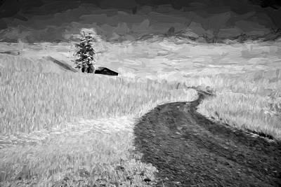 Country Dirt Roads Digital Art - Serpentine Passage II by Jon Glaser