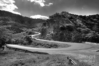 Serpentine Road Across Keiyo Original by Morris Keyonzo